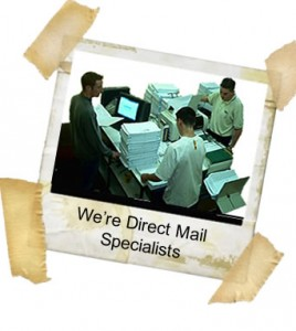 We are Direct Mail Specialists in London